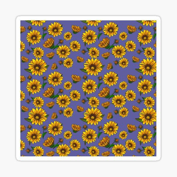 Flowery pattern Sticker