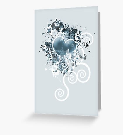 Where is your heart? Greeting Card