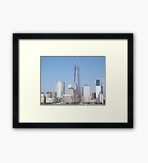 The New World Trade Center is Now the Tallest Building in the Western Hemisphere, New York City Framed Print