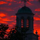 Cupola at Sunset by Kent Nickell