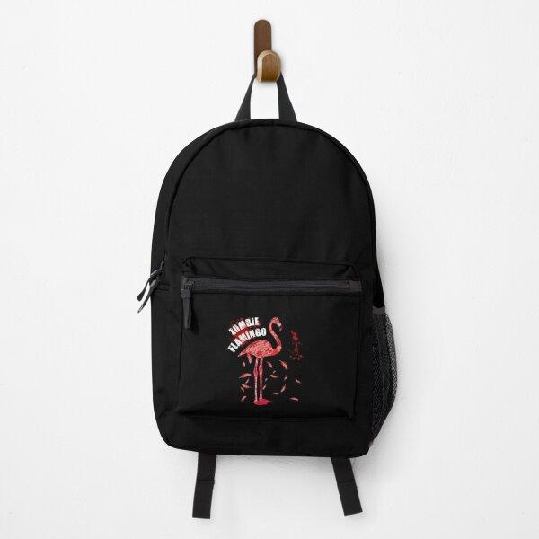 Flamingo zombie - Flamingo Bird Lovers  - Scary Halloween Flamingo Flamingoween  Backpack