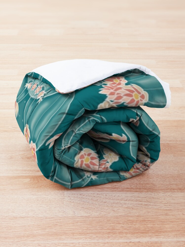 Alternate view of Find a tortoise  Comforter