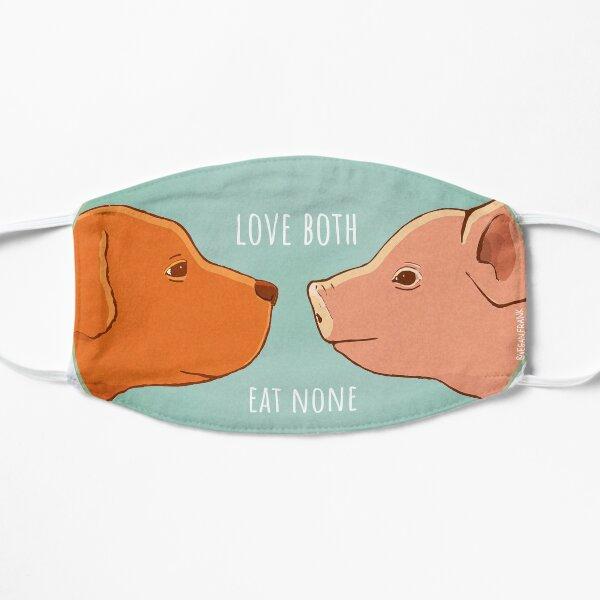 Equality - pig and dog Flat Mask