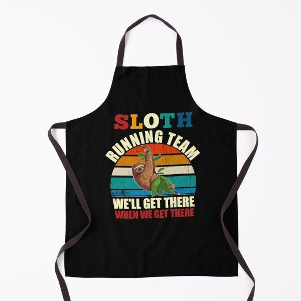 Sloth running team Apron