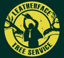Leatherface Tree Service | Unisex T-Shirt