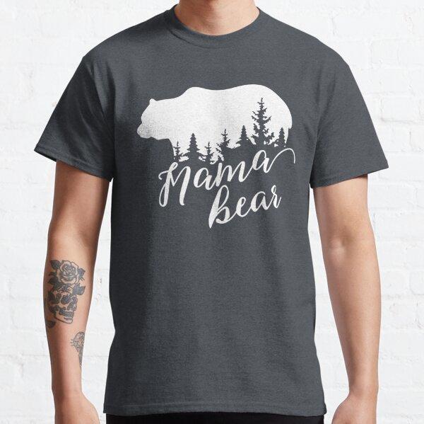 Mama Bär Lila Waldmaske Classic T-Shirt