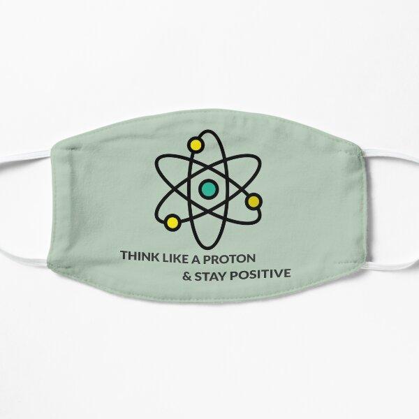 mantén un diseño positivo para todos los que aman la ciencia. Bonitas camisetas Mascarilla