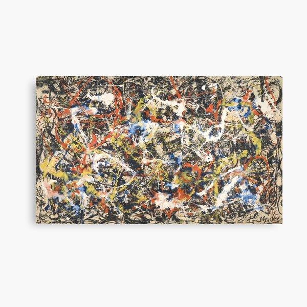 Jackson Pollack - Convergence  Canvas Print