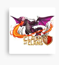 Dragon COC Canvas Print
