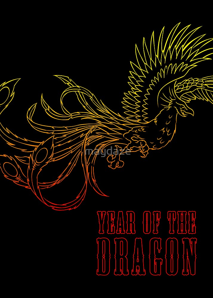 year of the dragon by maydaze