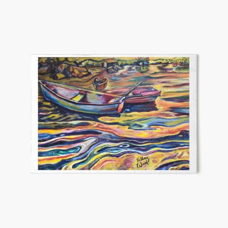 Swirls at Sunrise Art Board Print