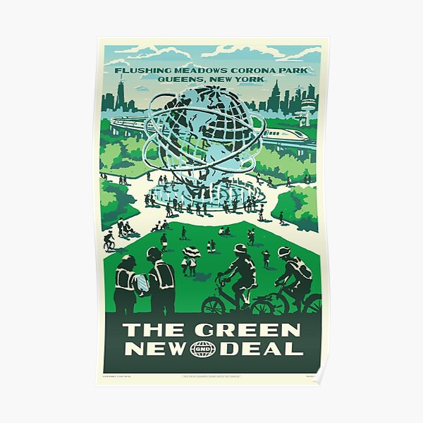 Park Green New Deal Poster