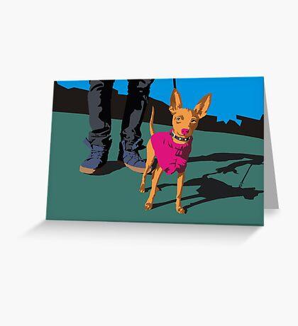 Muchacha  Greeting Card