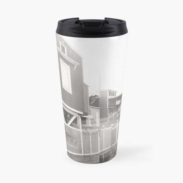 pacific wharf Travel Mug