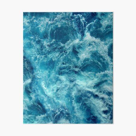 Ocean is shaking Art Board Print