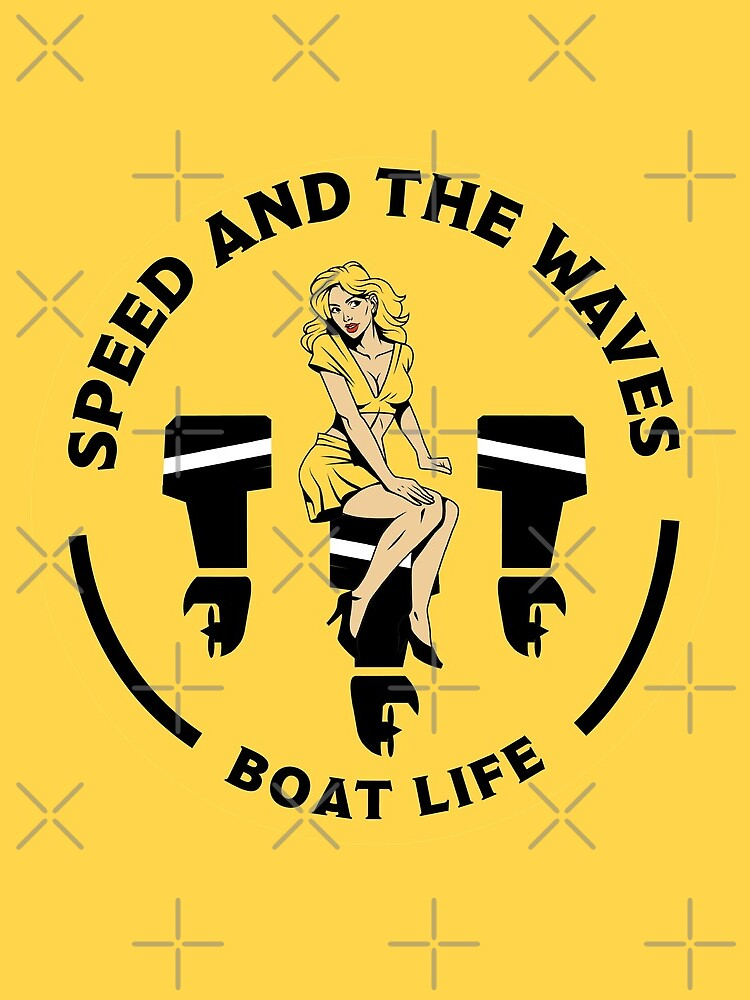 Speedboat Owners Gift - Speed Boat Gifts - Speedboat shirts - Speedboat Stickers - Mugs - Bags by happygiftideas