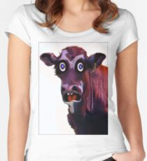 BUTCHER ?! Women's Fitted Scoop T-Shirt