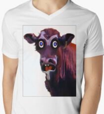 BUTCHER ?! Mens V-Neck T-Shirt