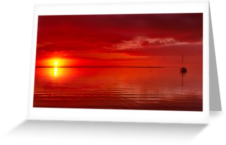 """""""The Sunrise And The Sailboat"""" by Phil Thomson IPA"""