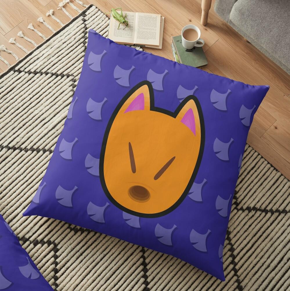 CRAZY REDD ANIMAL CROSSING Floor Pillow