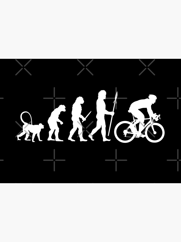 Evolution of a Cyclist by Merchment