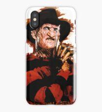 Freddy Krueger Potrait iPhone Case
