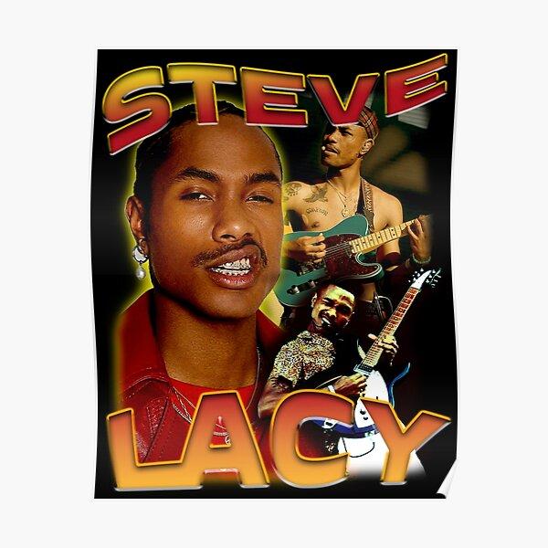 steve lacy bootleg tee shirt merch Poster