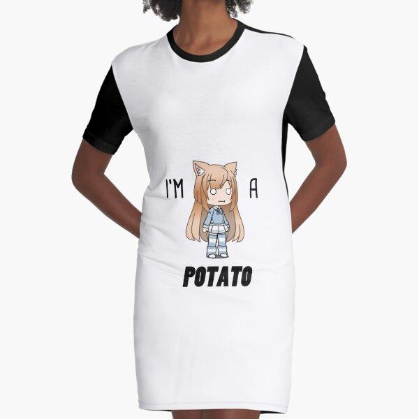 nous sommes tous des pommes de terre. Robe t-shirt