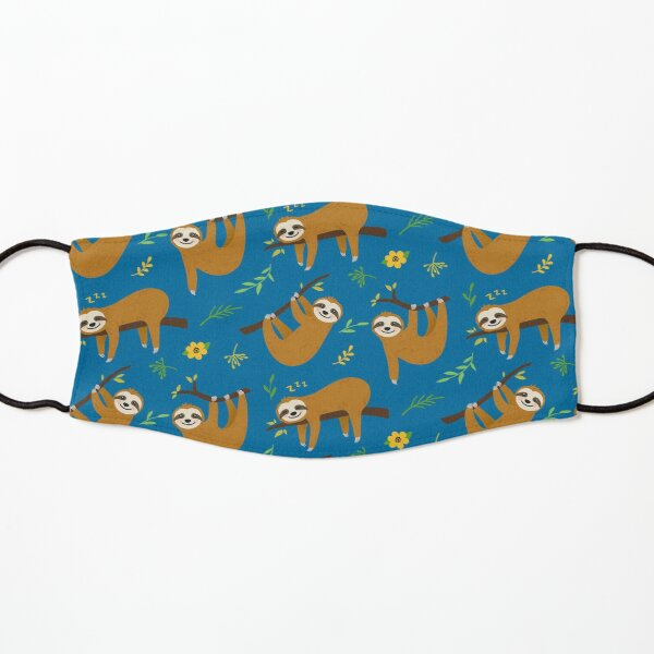 Sloth Print Kids Mask