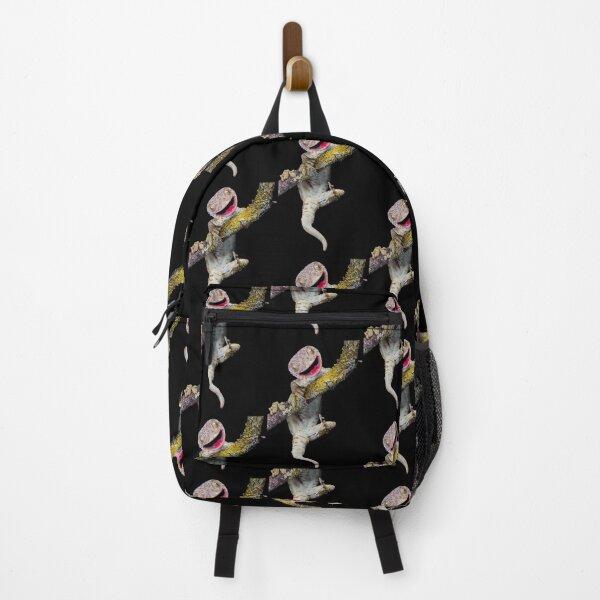 Happy Tokay gecko Backpack