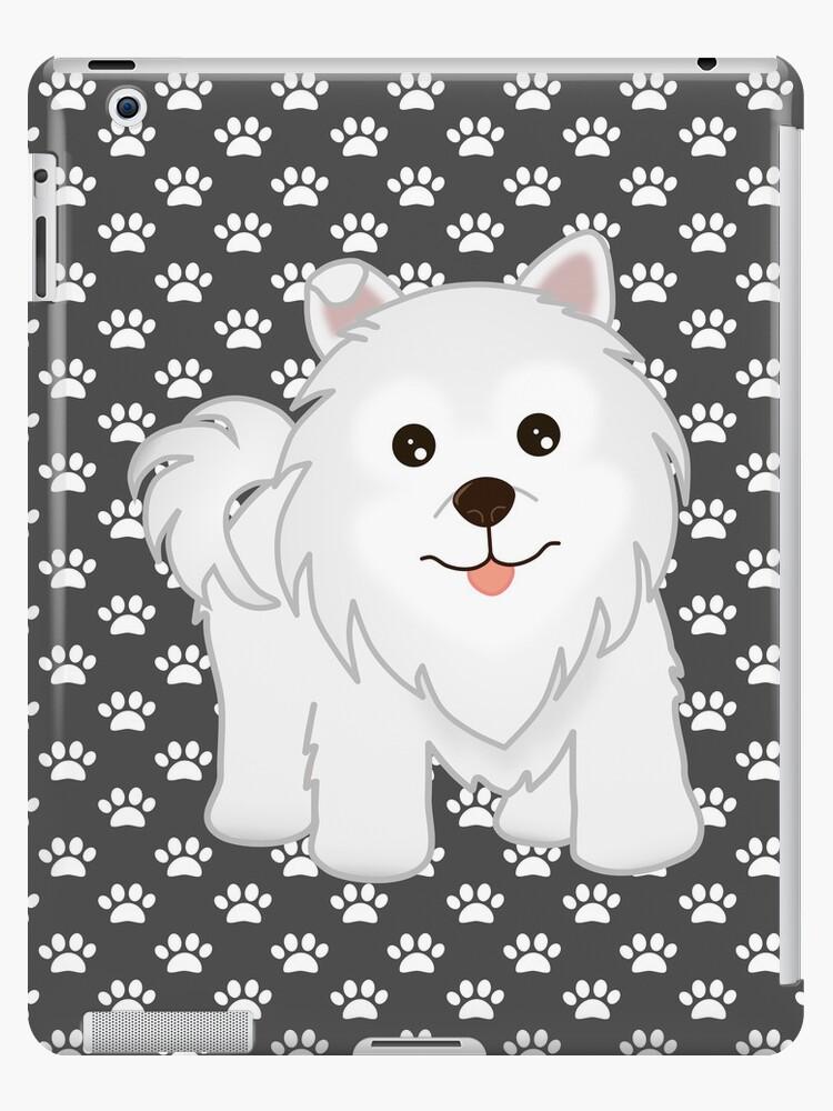 Cute Little Samoyed Puppy Dog by ArtformDesigns