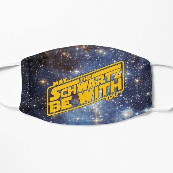 May The Schwartz Be With You_Stars Flat Mask