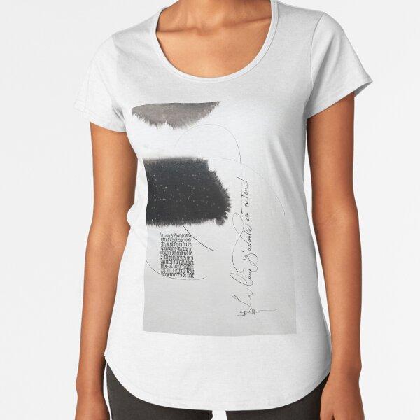 abstract 9 Premium Scoop T-Shirt