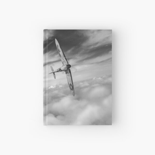 Spitfire solo black and white version Hardcover Journal