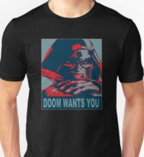 Doom Wants You Unisex T-Shirt