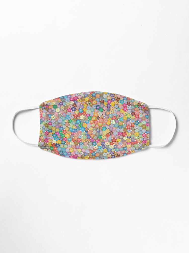 Alternate view of Vibrant Floral Mask
