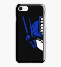 Optimus Prime (colored) iPhone Case/Skin