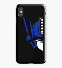 Optimus Prime (colored) iPhone Case
