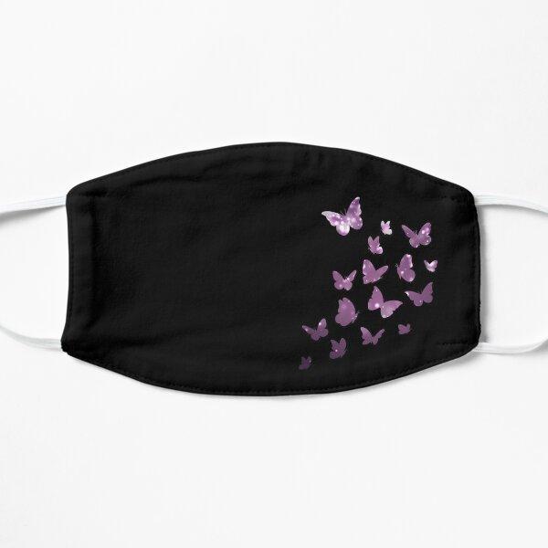 Butterfly, Butterflies, Purple Sparkles, Cute Monarch, Dream, Beautiful Colors, Colorful Glitters, Black Background Mask