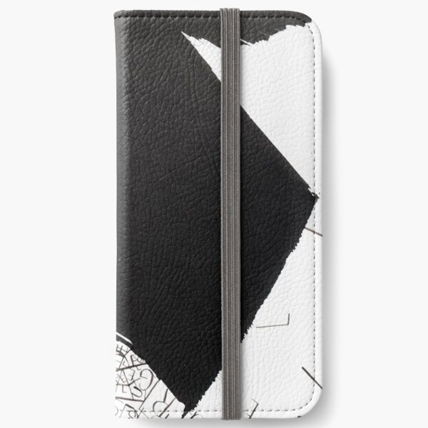 abstract 8 iPhone Wallet