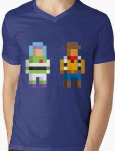 Retro Toy Story Mens V-Neck T-Shirt