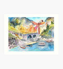 Italy - Manorola 01 Art Print