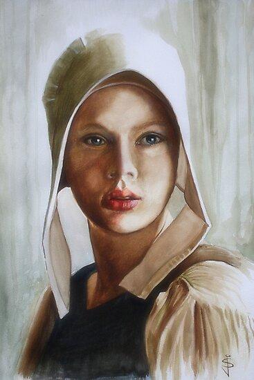 Scarlett by Jan Szymczuk