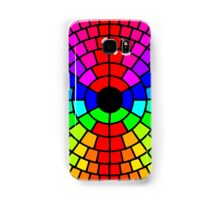 Rainbow circle pattern Samsung Galaxy Case/Skin