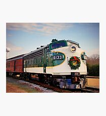 Holiday Train Photographic Print