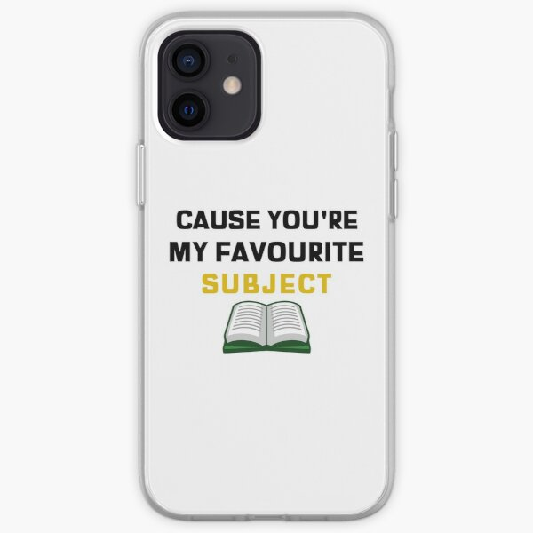 Hamilton You're My Favourite Subject iPhone Soft Case