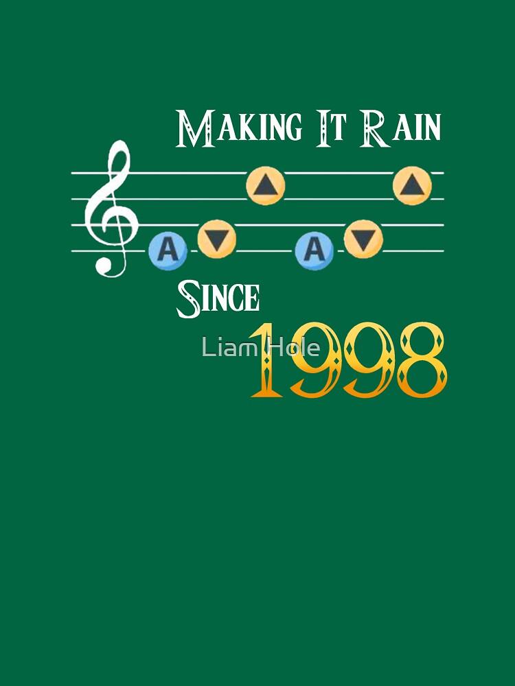 Legend of Zelda Ocarina of Time: Making It Rain Since 1998 | Unisex T-Shirt