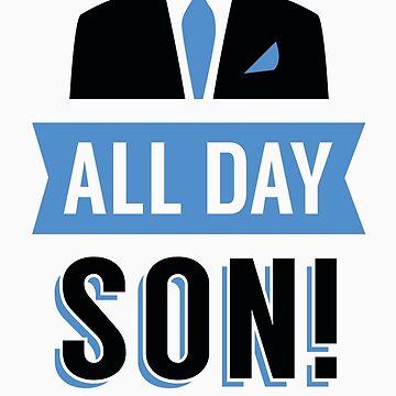 All Day Son Schmidt Tshirt | New Girl T-Shirt Tee Nick Miller Cece Winston Jess TV Quote Meme Gift Him Her douchebag jar Schmidt Happens uk by atomickid