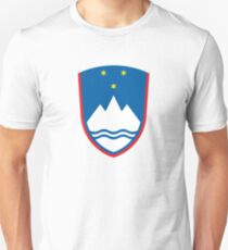 Coat of Arms of Slovenia  T-Shirt