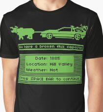 The Delorean Trail Graphic T-Shirt